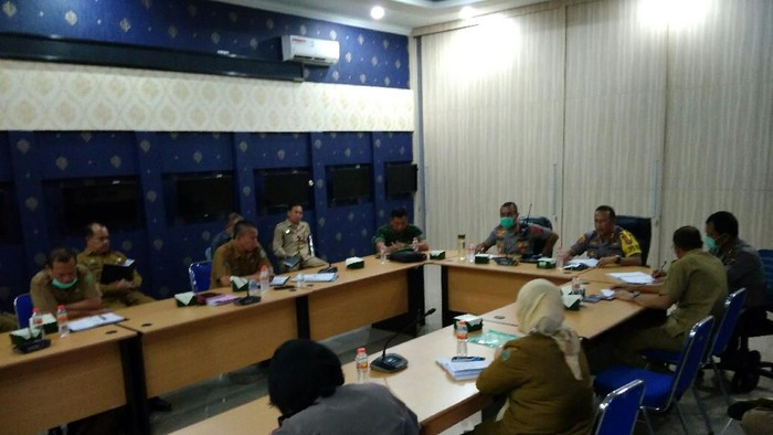Disdik Sumut rapat soal pengumuman kelulusan sekolah. (Foto: Datuk Haris/detikcom)