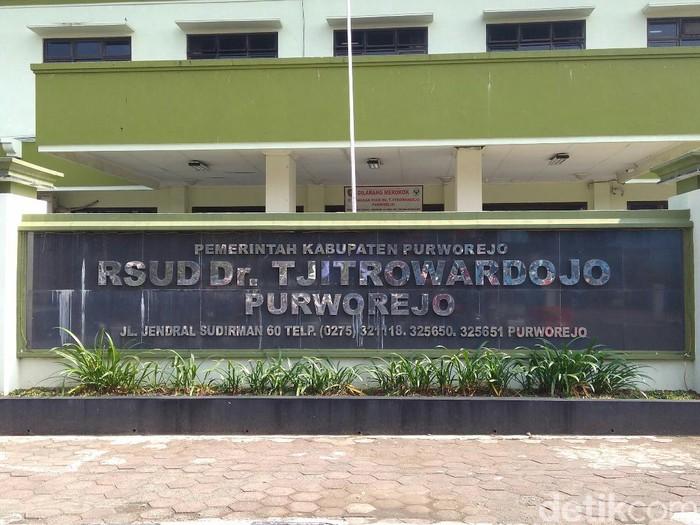RSUD dr Tjitrowardojo, Selasa (24/3/2020).