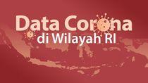 Peta Sebaran 893 Kasus Positif Corona di 27 Provinsi RI, Per 26 Maret 2020