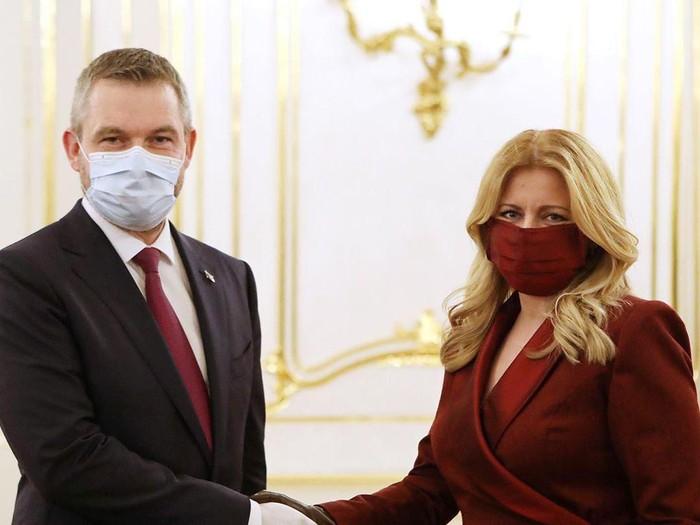 Presiden Slovakia zuzana caputova