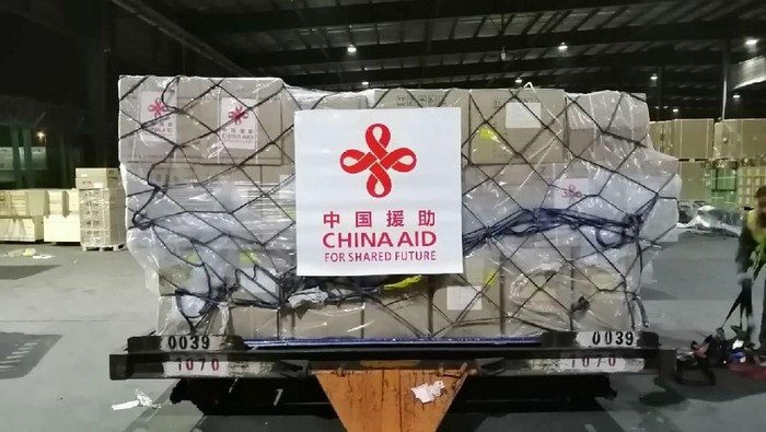 Paket Bantuan Medis dari Pemerintah Tiongkok bagi Indonesia