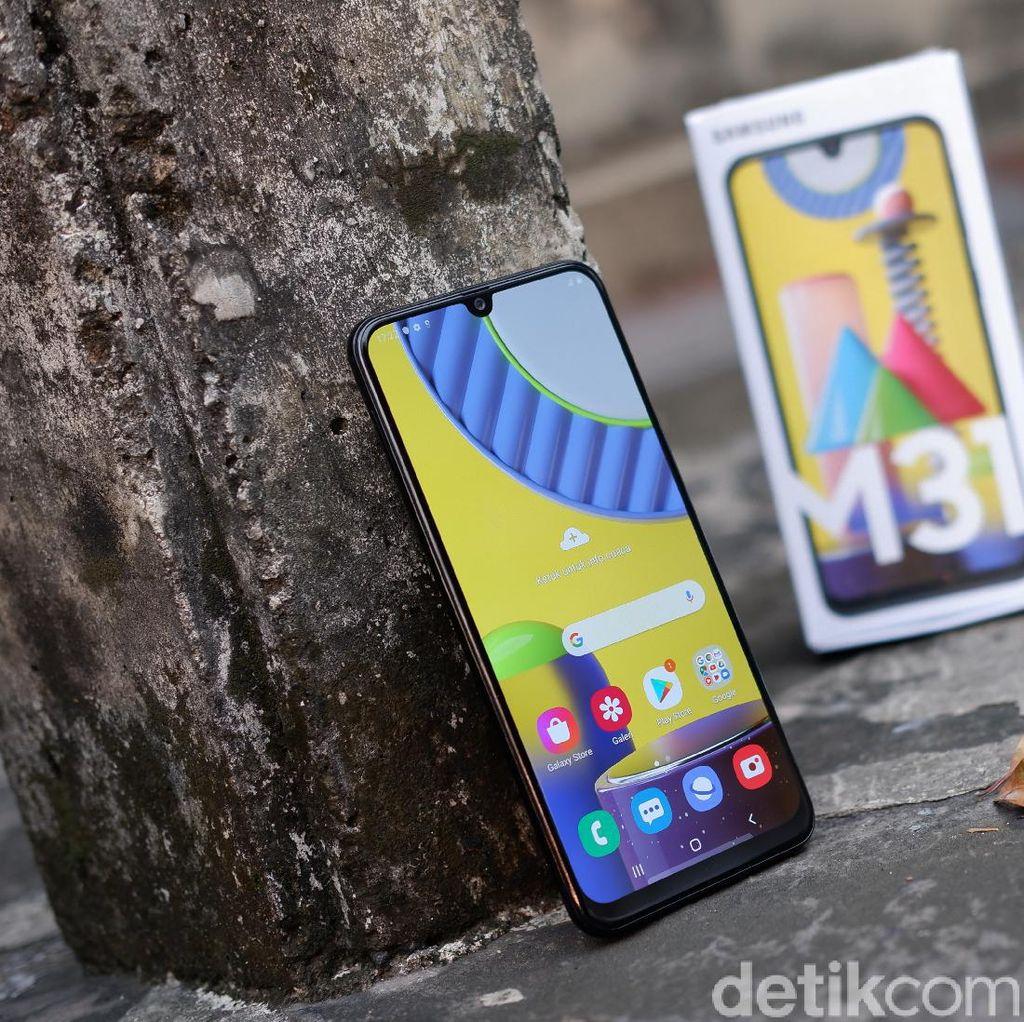 Unboxing Samsung Galaxy M31 yang Ditenagai 6.000 mAh