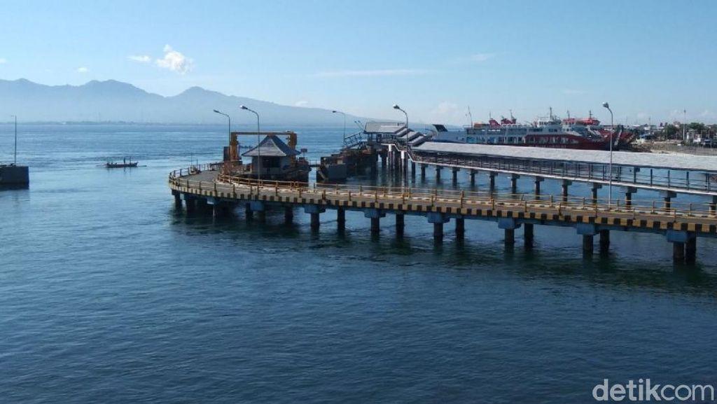 Sepinya Pelabuhan Ketapang Banyuwangi yang Ditutup Saat Nyepi
