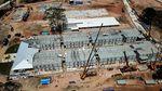 Melihat Pembangunan RS Corona Pulau Galang dari Udara