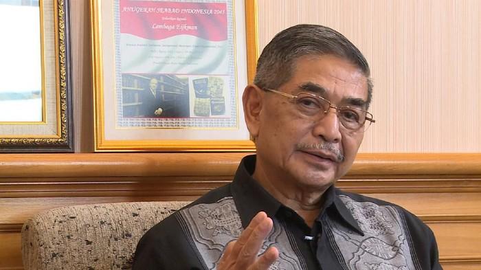 Direktur Lembaga Biologi Molekuler Ejikman Prof Amin Soebandrio
