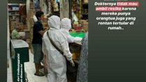 Viral Orang ke Pasar Pakai Hazmat dan Nasi Padang Penyebar Corona