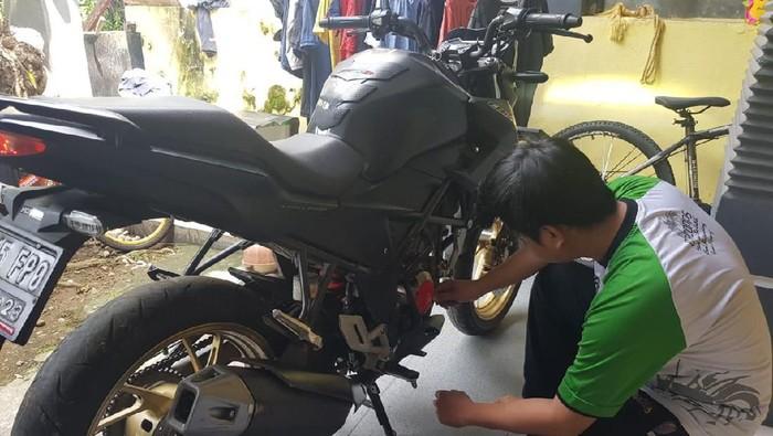 Perawatan motor bisa dilakukan di rumah