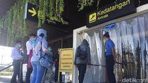 Bandara Banyuwangi Tambah WTD Untuk Cegah Penyebaran Virus COVID -19