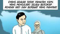 Ibunda Jokowi Meninggal, Gibran Kenang Eyangnya Tak Pernah Tunjukkan Rasa Sakit