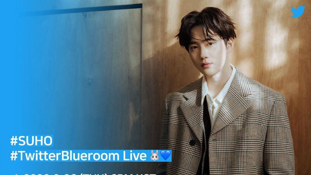Suho EXO Live di Twitter Sore Ini, Kamu Bisa Tanya Apa Aja!