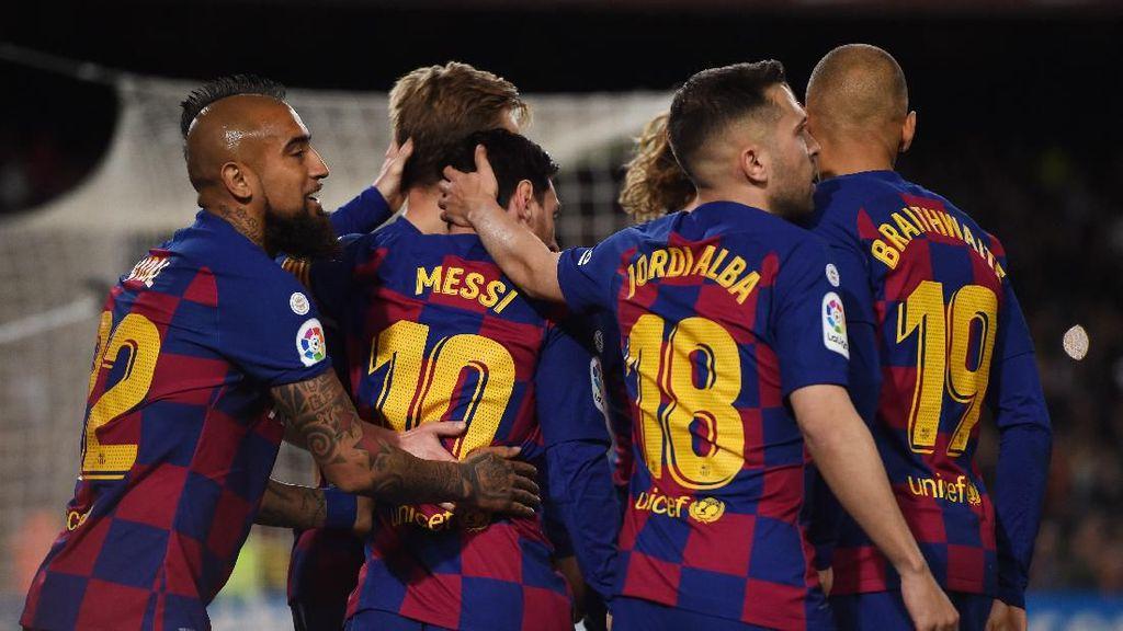 Setien Sebut 5 Pergantian Pemain Berpotensi Rugikan Barcelona, Kok Bisa?