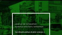 Lewat Kampanye #KasihLebihan, Gojek Ajak Masyarakat Apresiasi Mitra
