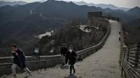 Baru Sehari Dibuka, Tembok Besar China Sudah Kena Vandalisme