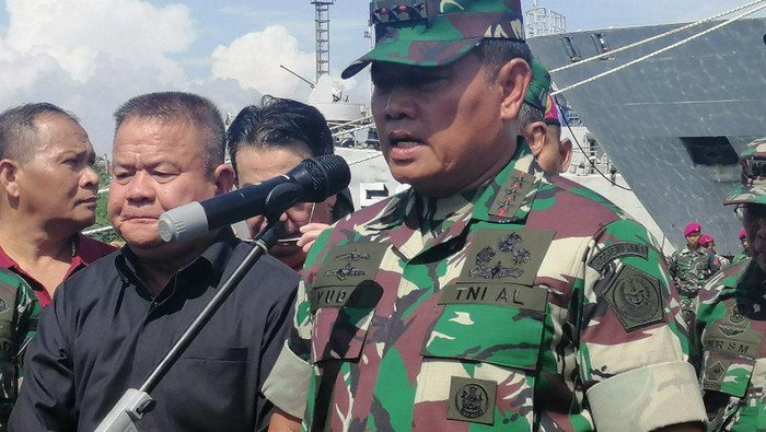 Pangkogabwilhan I Laksamana Madya TNI Yudo Margono. (Antara Foto/Syaiful Hakim)