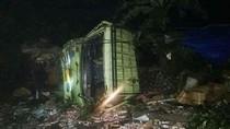 Truk Tabrak 7 Motor di Cianjur, 2 Orang Tewas