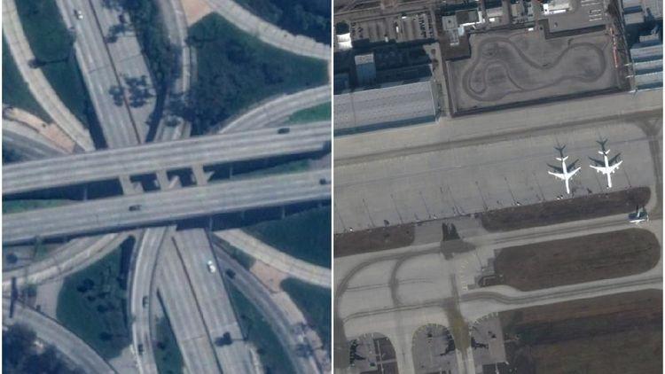 Foto Satelit Bandara, Pelabuhan dan Tol yang Mati Imbas Corona