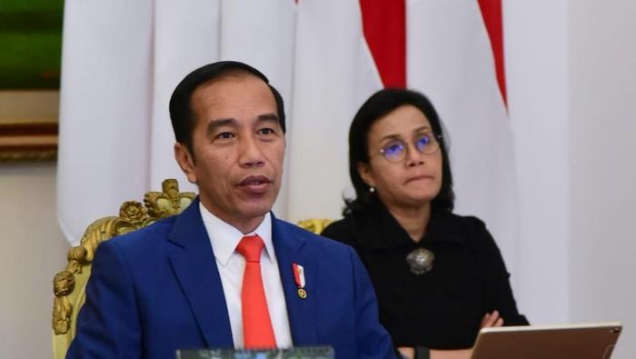 Jokowi Ikuti Rapat Virtual KTT Luar Biasa G20 Bahas Penanganan Corona