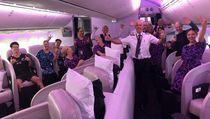 Gegara Corona, Pesawat Boeing Dreamliner Isinya Cuma 4 Orang