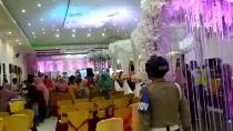 Video Polisi Bubarkan Resepsi Pernikahan Demi Cegah Corona