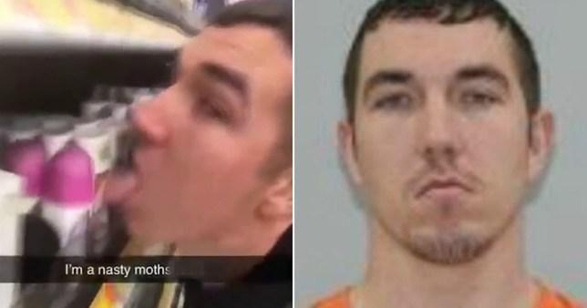 Pria Ini Dijebloskan ke Penjara Usai Jilati Barang di Supermarket