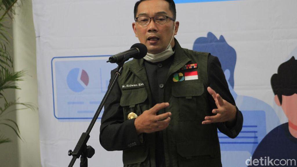 Ridwan Kamil Siapkan Drone Penyemprot Disinfektan
