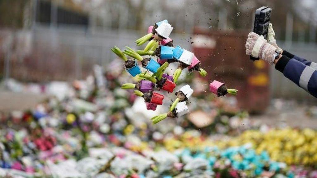 Foto: Industri Bunga di Belanda Sedang Berdarah-darah