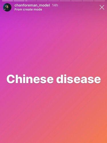 Model Inggris Dihujat Rasis Setelah Sebut Corona Sebagai Penyakit China