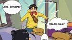 Dont Panic! untuk yang #dirumahaja, Baca Komik Kopi Sedetik