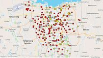Update Data Sebaran Kasus Positif Corona di Jakarta