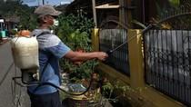Warga Tanjung Enim Antisipasi COVID-19 Secara Mandiri