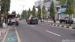 Pesepeda Keluhkan Jalur Sepeda Miliaran di Medan Jadi Tempat Parkir Liar