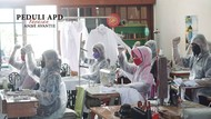 Produksi APD Digenjot untuk Penuhi Permintaan Tenaga Medis