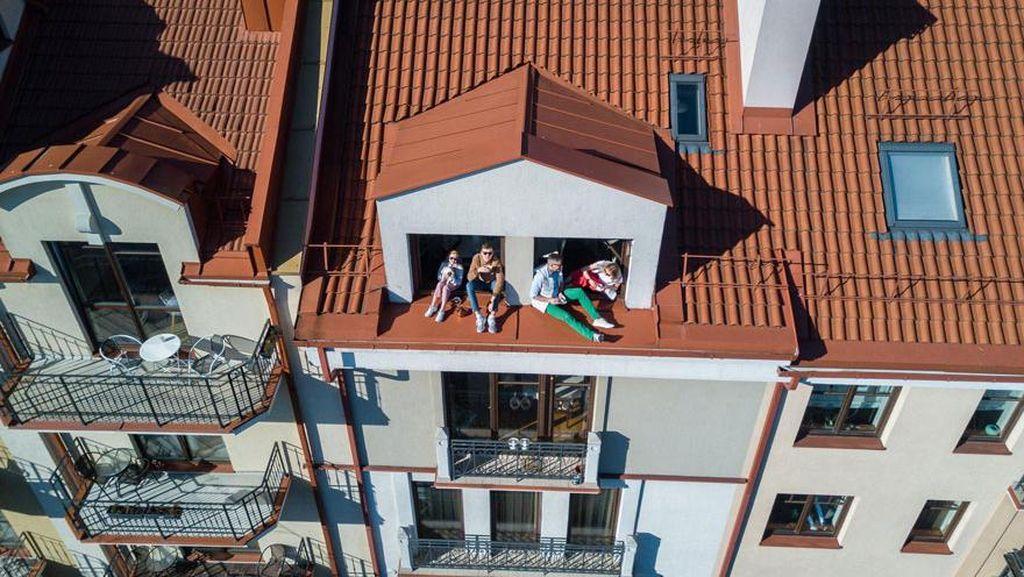 10 Foto Drone Kondisi Nyata Saat Karantina, di Rumah Aja Nggak Menderita