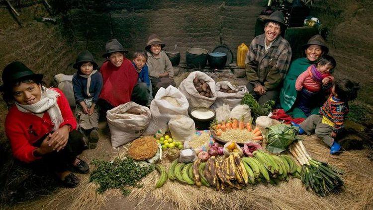 10 Potret Menu Makanan Berbagai Keluarga di Belahan Dunia