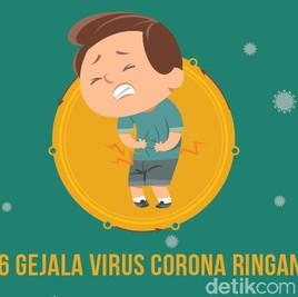6 Gejala Ringan Virus Corona yang Tak Boleh Diabaikan