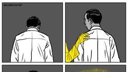 Haru! Komik Faktap Gambar Perjalanan Doa Ibunda di Jalan Terang Jokowi