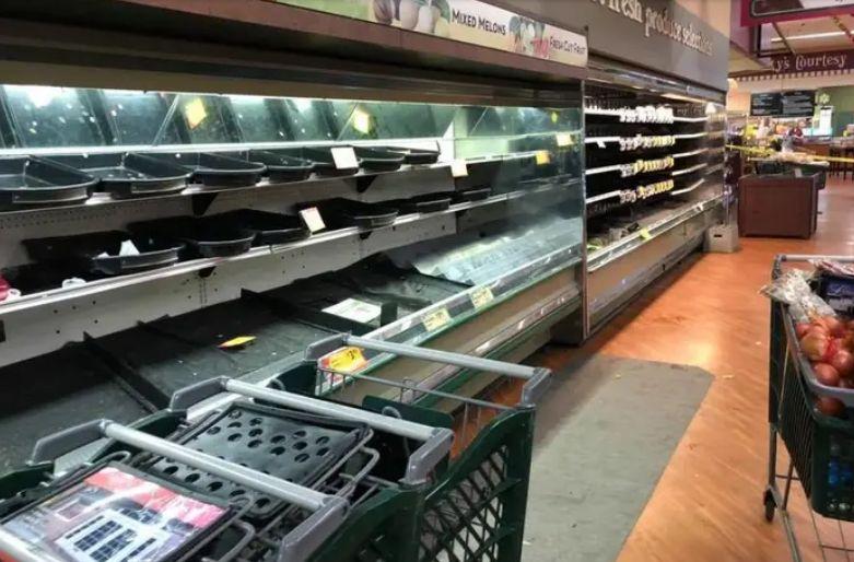 Supermarket Buang Makanan Rp 500 Juta karena Wanita Prank Batuk Corona