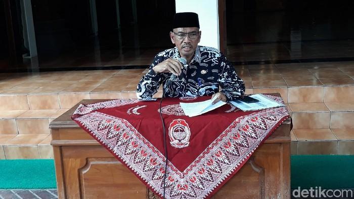 Sekda Kabupaten Bantul, Helmi Jamharis, Jumat (27/3/2020).