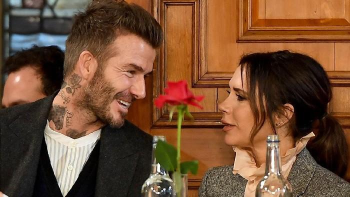 David dan Victoria Beckham bikin kue