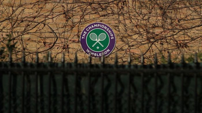 LONDON, ENGLAND  - MARCH 26: A general view of The All England Lawn Tennis and Croquet Club, best known as the venue for the Wimbledon Championships, on March 26, 2020 in London, England. Coronavirus (COVID-19) has spread to at least 194 countries, claiming over 18,500 lives and infecting over 420,000 people. There have now been over 8,000 diagnosed cases in the UK and 422 deaths. (Photo by Andrew Redington/Getty Images)