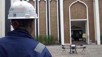 Pakai Drone, BNI Bantu Sterilkan Permukiman di Jabodetabek