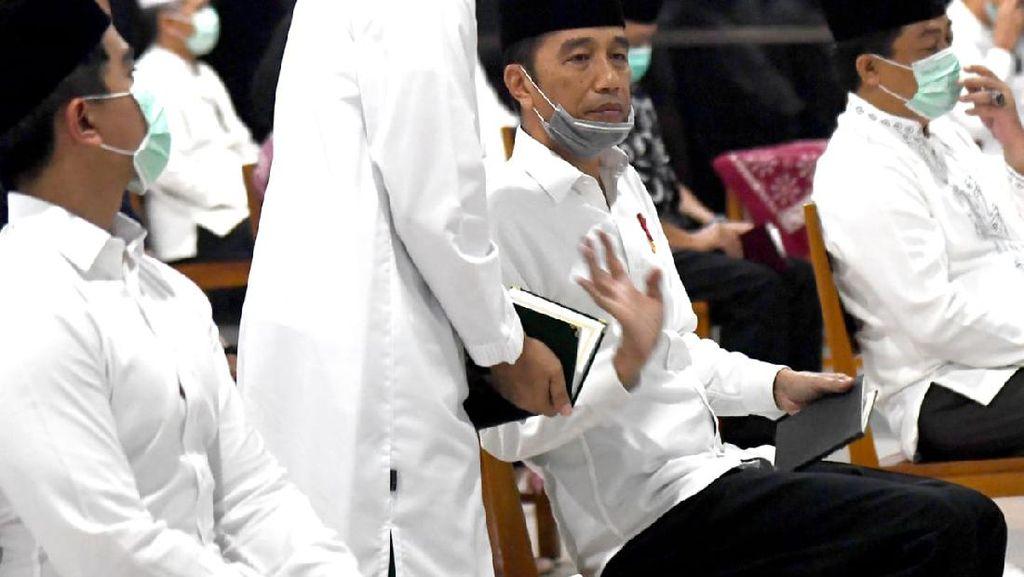 Jokowi dan Keluarga Gelar Tahlilan untuk Almarhumah Ibundanya di Solo