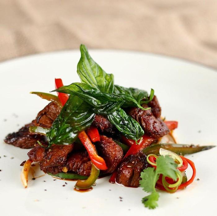 Thai Beef Basil Chef Steby