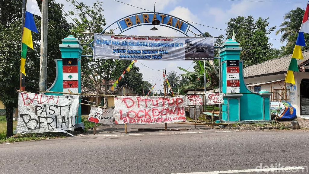 Dusun-dusun di Sleman Ini Berlakukan Lockdown Kampung