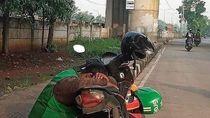 Curhat Pengemudi Ojol di Tengah PSBB Jakarta: Orderan Sepi