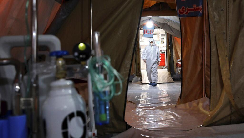 Iran Laporkan 10.000 Tenaga Medis Terinfeksi Virus Corona COVID-19
