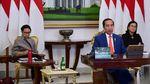 Potret Jokowi Mengikuti KTT G20 Secara Virtual