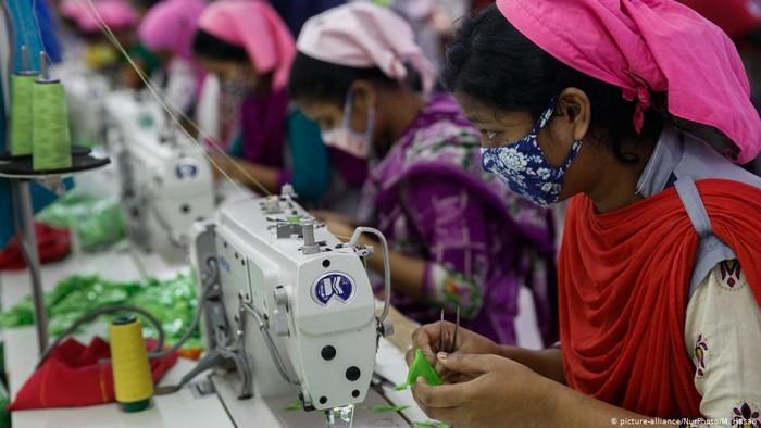 Industri Garmen Bangladesh dalam Ancaman Wabah Corona