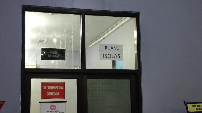 Ruang Isolasi Pasien Corona