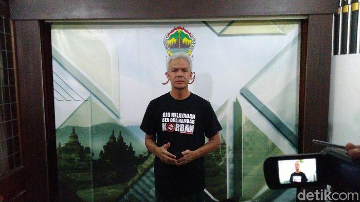 Gubernur Jawa Tengah, Ganjar Pranowo, Jumat (27/3/2020).